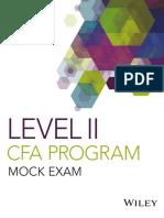 2019 Level II CFA Mock Exam Answers AM