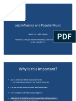 Jazz back into Mainstream