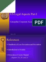 US Legal Aspects