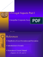 US Legal Aspects
