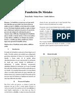 Fundicion de metales - lab procesos1