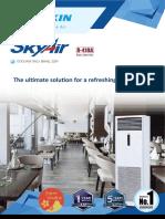 Sky Air Non Inverter Brochure