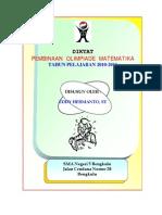 Diktat Pembinaan Olimpiade Matematika Versi 4
