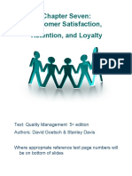 Importance of Customer Satisfaction, Retention, Loyalty