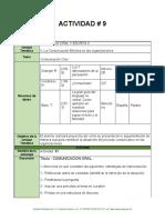 Actividad 9 Expresión Oral y Escrita II