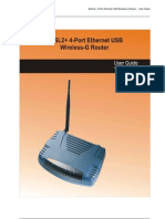 DSL600EW User Manual v1.0