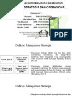 2019 S-2 IKM TUGAS 1 Topik Manajemen Strategis dan Operasional