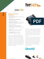 Foretrack T100 Datasheet