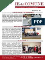 Notizie Dal Comune di Borgomanero del 5-03-2021