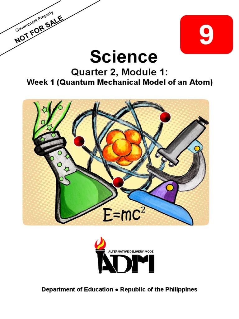 Sci9_Q2_Mod(1-9)   Electron Configuration   Atomic Orbital