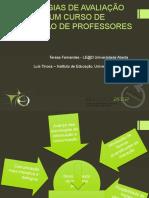Estratégias de Avaliação Digital Num Curso de Formação de Professores