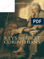 Keys to First Corinthians Revisiting the Major Issues by Jerome Murphy OConnor (Z-lib.org)