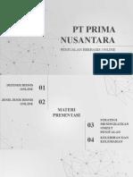 PPT Penjualan Berbasis Online