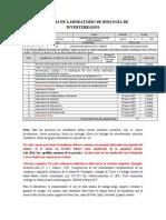 Guia laboratorios Biol Invertebrados 2020-II