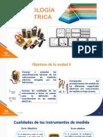 Metrología eléctrica Unidad II (1)