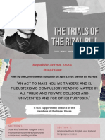 HISTORY - The Trials of Rizal