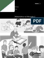 Matematica Na Educacao 2 Vol1