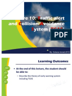 Lecture 10-Traffic Collision & Avoidance TCAS