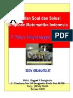 Buku 8 Tahun OSN Bidang Matematika