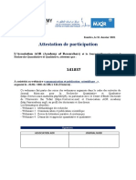 Template-Attestation