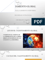 DIAPOSITIVAS CALENTAMIENTO GLOBAL (JHEIMY)