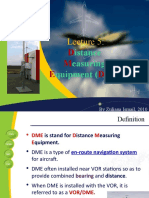 Lecture 5- Distance Measuring DME