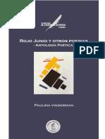 Paulina Vinderman Rojo Junio Poemas Ruinas Circulares Fragmento