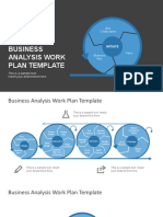 FF0084 01 Free Business Analysis Work Plan Template 16x9
