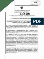 DECRETO 982 DEL 07 DE JUNIO DE 2018_Suprimer ETCR Vígía y Gallo