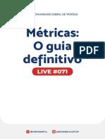 Live 071 - Tudo sobre métricas
