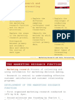 01 Marketing Research and Slaes Forecastng