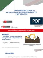 Inversiones IOARR en Estado de Emergencia