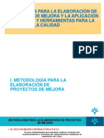 Metodología Para Elaboración de Proyectos Phva 3-1