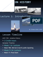 Lecture 1-Introduction to Aviation History