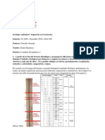 Informe 1 Geoquímica Daniel Barahona