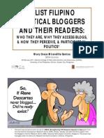 A-List Filipino Political Bloggers & Readers (Mirandilla, NCPAG, Feb 26 11)