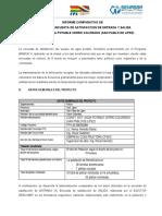 Analisis Comparativo Encuesta de Satisfaccion Cerro Colorado (San Pablo de Lipez)