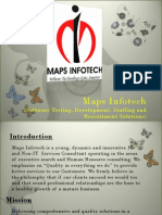 Maps Infotech Presentation
