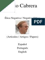 Julio Cabrera - Ética Negativa - DatVoid, 2020