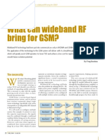 what can wideband rf bring for gsm