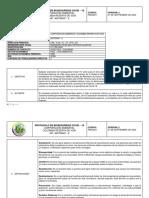 PROTOCOLO BIOSEGURIDAD CORPORACION AMBIENTAL COLOMBIA RESERVA DE VIDA