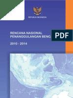 Rencana Nasional Penanggulangan Bencana 2010-2014