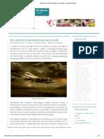 Influências da Meteorologia na Aviação – Monolito Nimbus