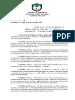 DECRETO MUNICIPAL Nº 127 2021 - COVID 19
