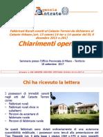 Fabbricati Rurali Censiti Al Catasto Terreni Da Dichiarare 2017 ATerritorio Milano