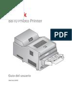 KODAK 8810 Photo Printer UG-4J7045 Es