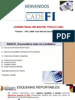 2020 Nov 27 Cadefi Cierre Fiscal 2020 Pm