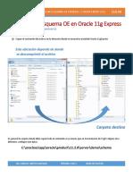 Instalación de Esquema OE en Oracle 11g Express