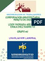 INDEMNIZACION LABORAL LEIDY Y ERIKA