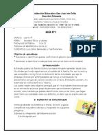 Guía Sociales -Ética y Valores 1-03-21